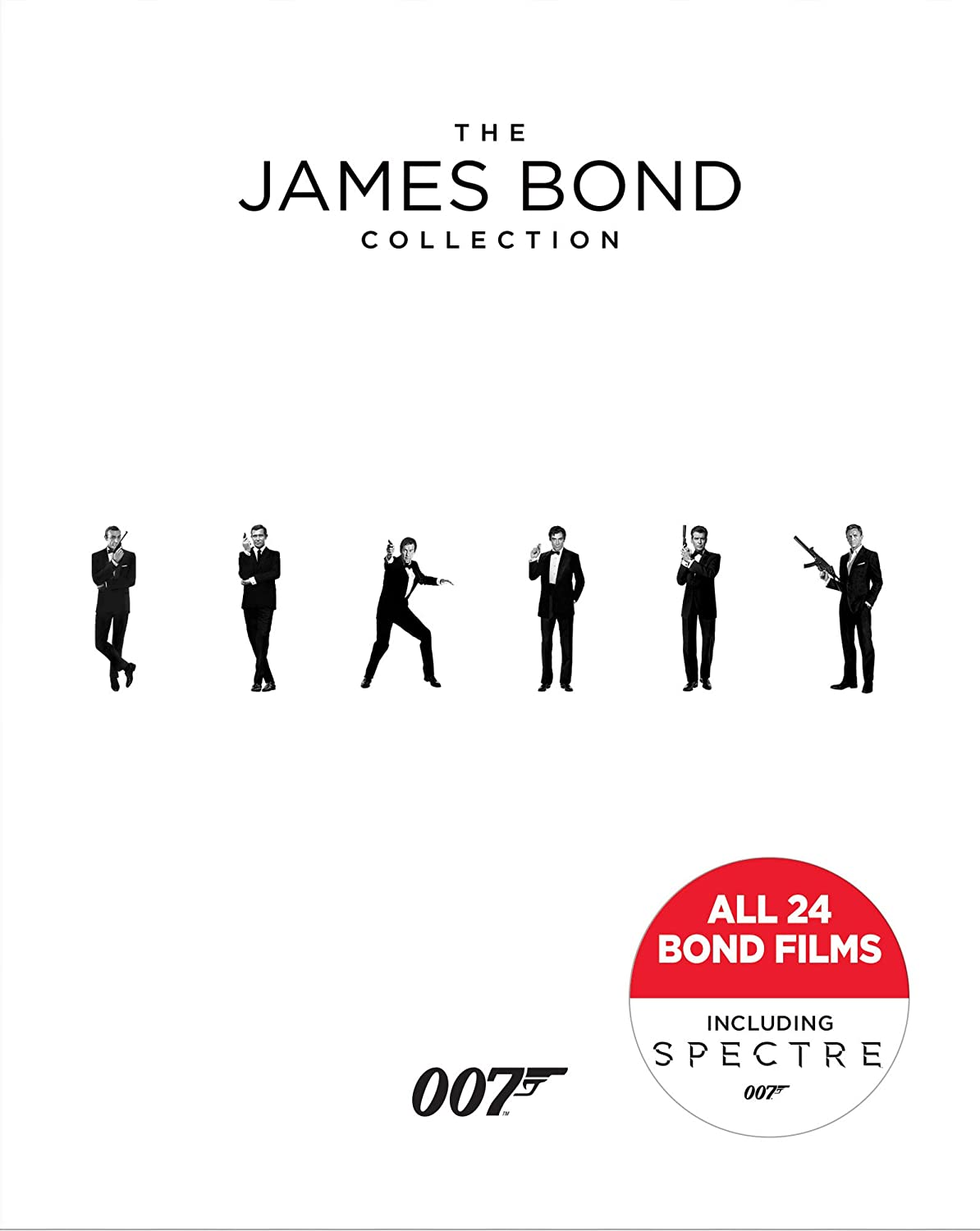 James Bond Collection (Bilingual) [Blu-ray] Daniel Craig Sean Connery Roger Moore Pierce Brosnan