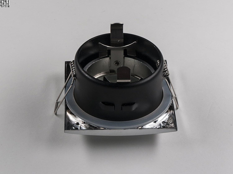 15 Pack 12 V prueba dreamlights aodquote*dquoteao en cromo para baño y ducha. Para lámparas halógenas y LED-apto: Amazon.es: Iluminación