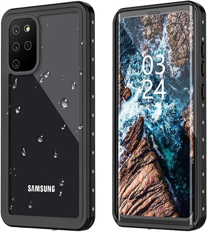 GOLDJU Samsung Galaxy S20+ Plus Case, S20 Plus Waterproof Case