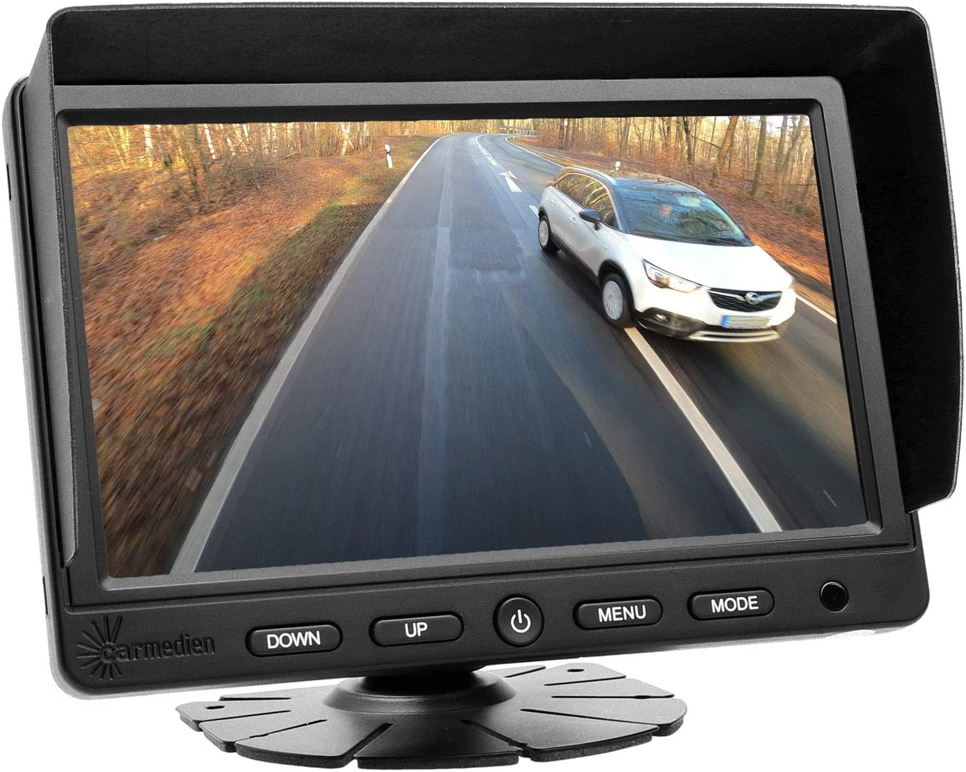 Carmedien Premium Rückfahrsystem Cm Dskrfs2 Mit Twin Doppel Shutter Rückfahrkamera Inkl Scheibenwischer Auto