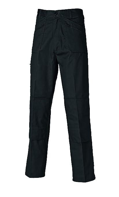 Dickies Redhawk Action Pantalones de trabajo, Hombre, Negro (Black), 44R (Talla del fabricante: 34R)