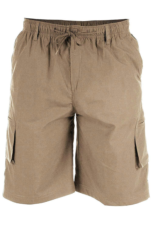 TALLA 4XL. Duke - Pantalones cortos con diseño de bolsillos en la pierna, para hombre
