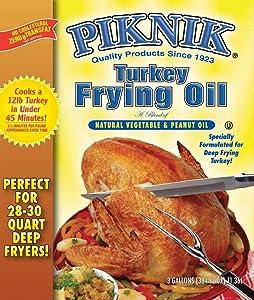 Piknik Blended Frying Oil (3 Gal.)