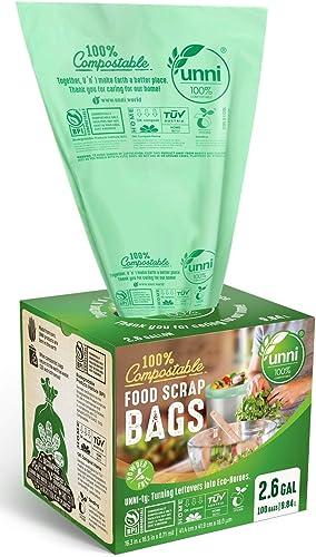 UNNI-ASTM-D6400-100%-Compostable-Trash-Bags