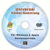Universal Treiber-Sammlung CD/DVD für Windows 8.1 / 8 / 7 / Vista / XP (32 & 64 Bit)
