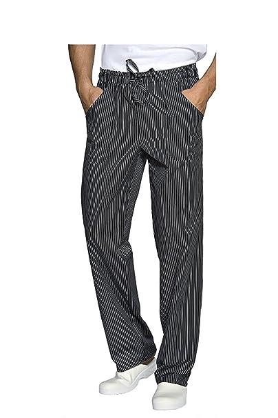 c6a56b1cdf Pantalone da Cuoco/Lavoro GESSATO - Taglie Forti - 2XL / 3XL / 4XL ...