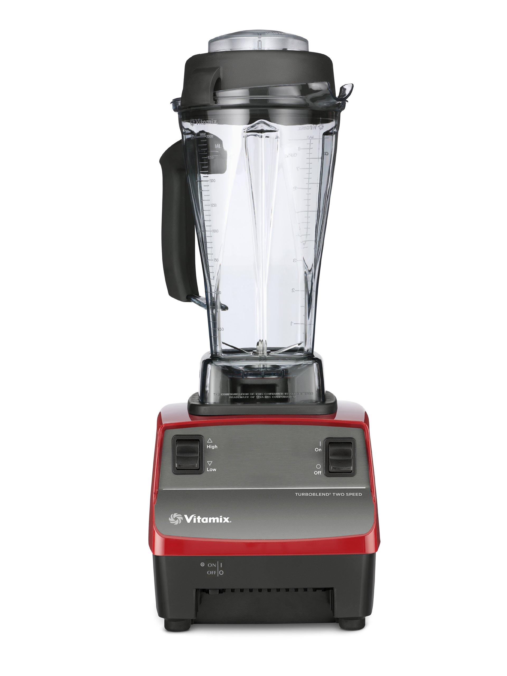 Vitamix Two Speed Blender, Red (Certified Refurbished)