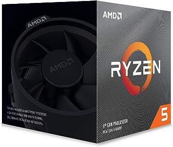 Amazon Com Amd Ryzen 5 3600xt 6 Core 12 Threads Unlocked Desktop Processor With Wraith Spire Cooler Computers Accessories
