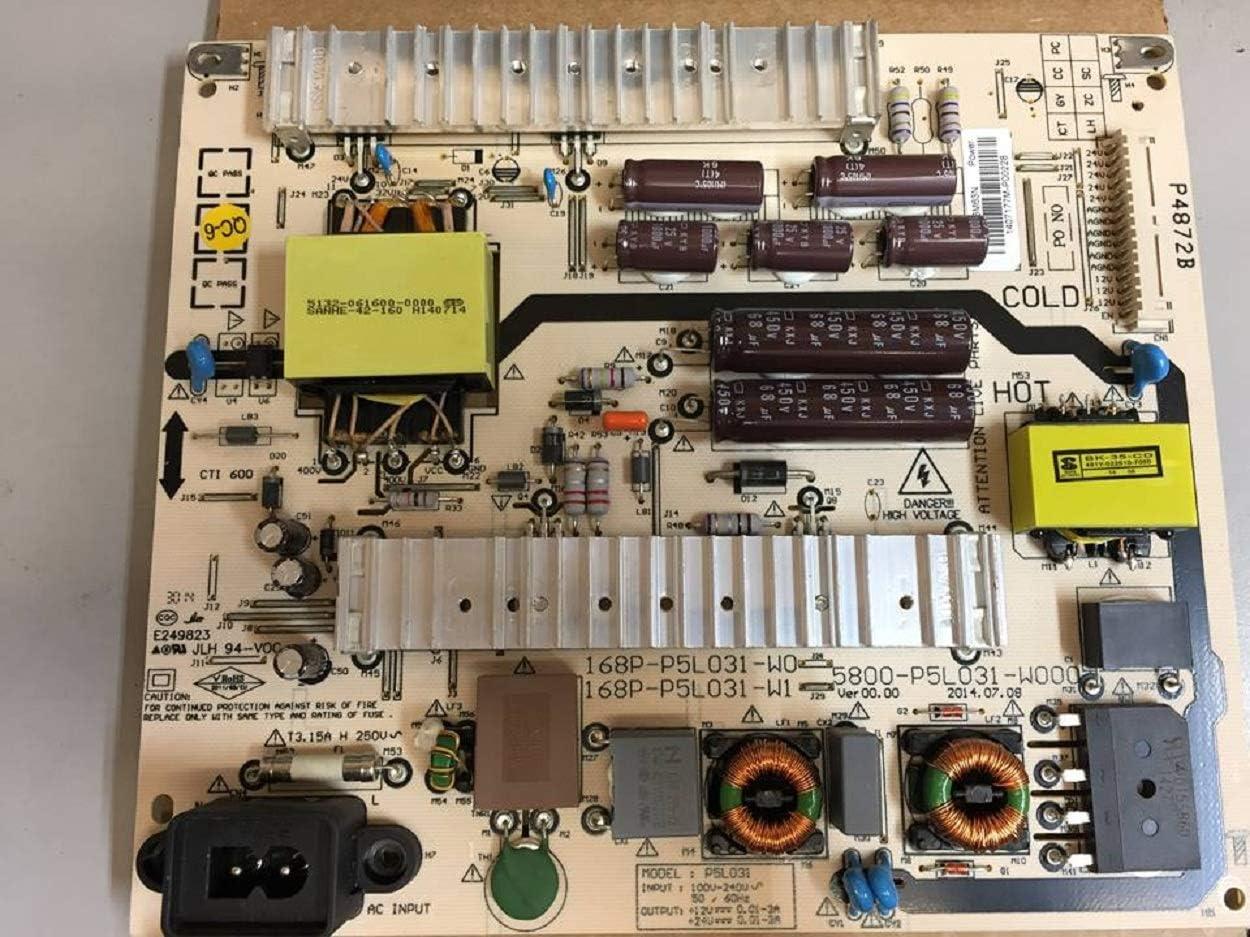 LG 5800-P5L031-W000 Placa de Fuente de alimentación para 60LB5200-UA.CUSWLH: Amazon.es: Electrónica