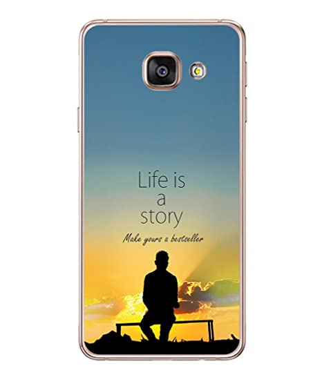 finest selection 0c7ca 0f3b0 PrintVisa Inspirational Saying High Gloss Back Cover for Samsung Galaxy A7  (6) 2016