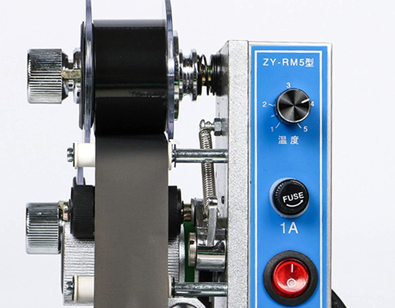 JOINVEN 印刷手動ホットスタンププリンタ日付コーディングマシン日付コーダリボンコーダ110V 60HZ   B07HH325TL