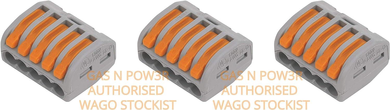 /Économisez du temps et des co/ûts gr/âce /à nos borniers d/'installation et connecteurs Gas N Pow3r Interconnexions /électriques WAGO M Box L32 S/érie 222 S/érie 221