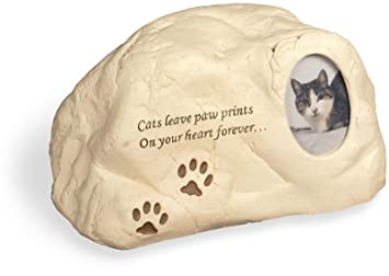 Amazoncom Cat Paws Polystone Cremation Urn Cats Leave Paw Prints