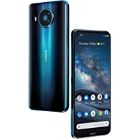 Nokia 8.3 5G Android One Smartphone (Official Australian Version) 2020, Unlocked Mobile Phone with Dual Sim, Cinematic…
