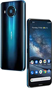 Nokia 8.3 5G Android One Smartphone (Official Australian Version) 2020, Unlocked Mobile Phone with Dual Sim, Cinematic Video Quad Camera, Zeiss Optics, Pure Display, 2-Day Battery, 8/128GB