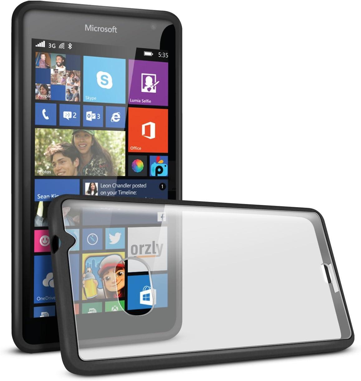 Orzly® - Fusion Bumper Case for LUMIA 535 SmartPhone: Amazon.es ...