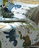 Catherine Lansfield Kids Dino Single Duvet Set - Multi