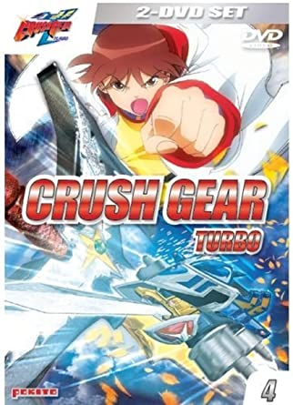 Crush Gear Turbo, Vol. 04 (2 DVDs) [Alemania]: Amazon.es: Hajime Yadate, Atsuo Tobe, Shuji Iuchi, Hideharu Iuchi: Cine y Series TV