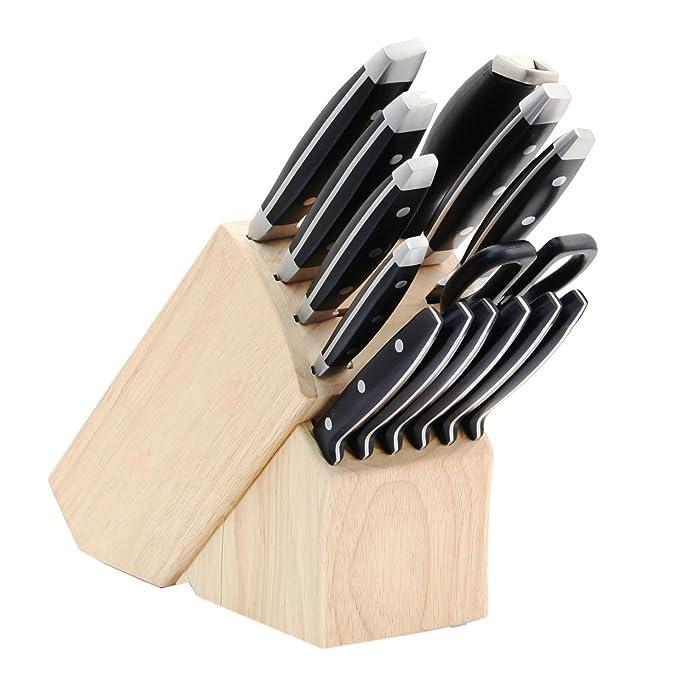 Hampton Forge, Continental 15 Piece Cutlery Block Set
