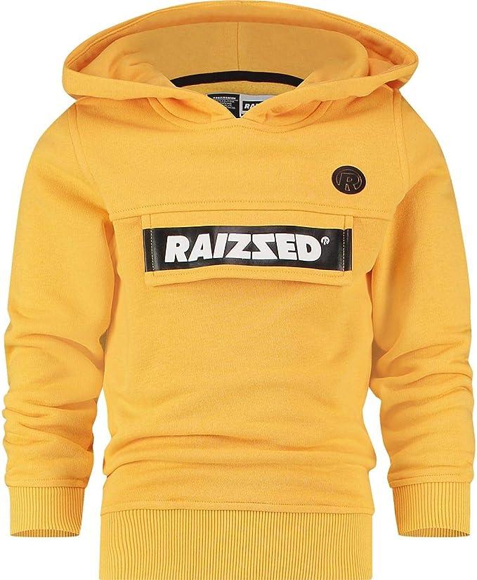 Raizzed Jungen Sweatshirt Pullover Kapuze Norwich Mustard Yellow
