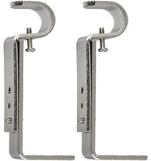Amazon.com: Umbra Adjustable Bracket for Drapery Rod, Set of 2 ...