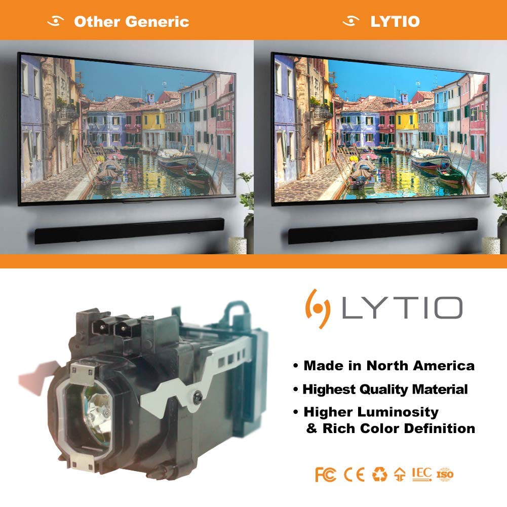 P LYTIO Economy for Samsung BP96-00608A TV Lamp with Housing BP96-00608A