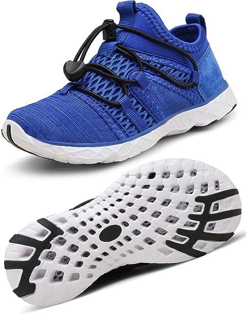 c1561a726a0 Gaatpot Aqua Escarpines Zapatos para Unisex Niños Zapatillas Baño Deportivas  de Agua Playa y Piscina Calzado de Atletismo Sandalia de Verano: Amazon.es:  ...