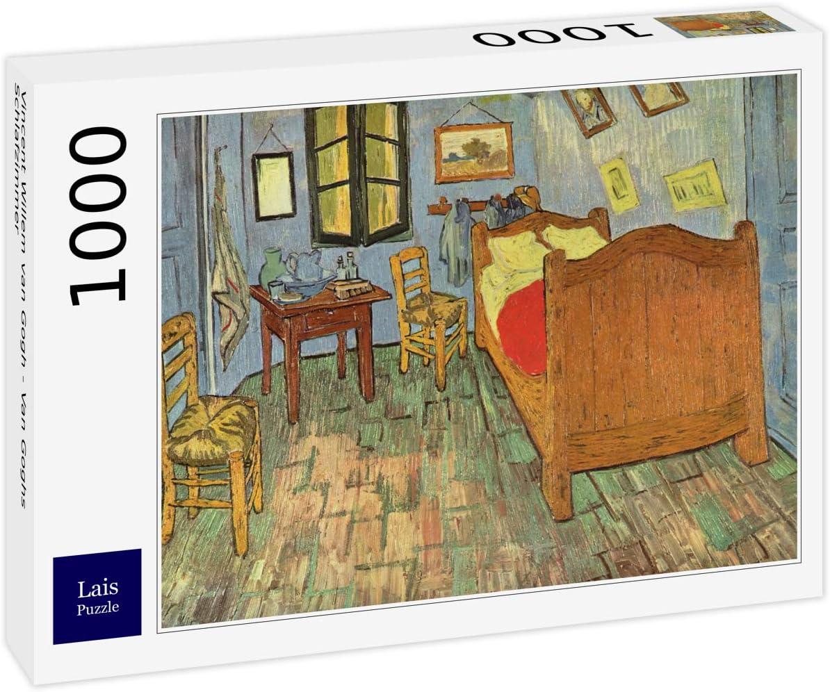 Lais Puzzle Vincent Willem Van Gogh - El Dormitorio de Van Gogh ...