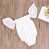 Sunbona Toddler Infant Baby Girl Flower Lace Off