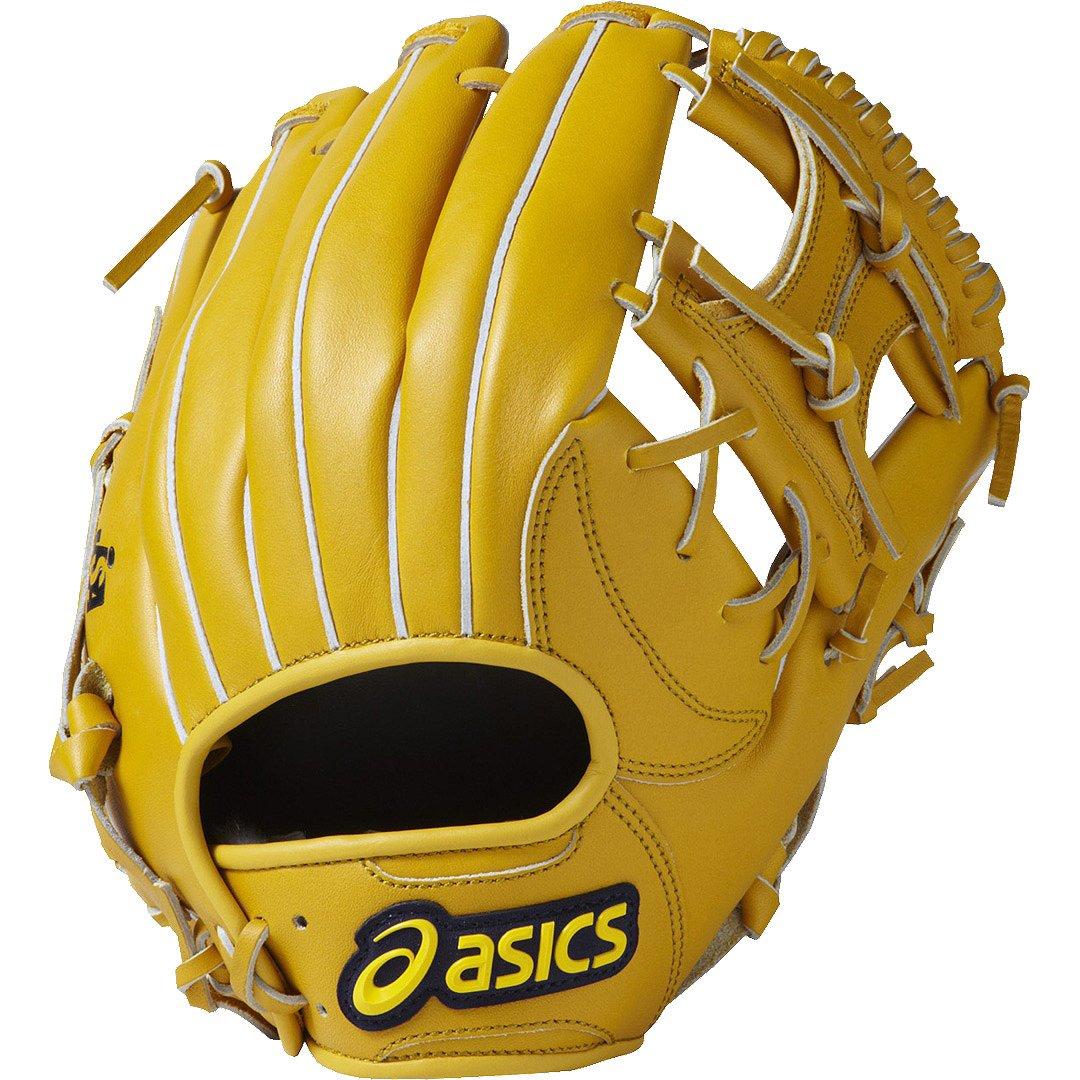 asics(アシックス) ソフトボール 野球 グローブ オールラウンド 右投げ LH ダイブ BGSFBX サイズ7 B01J73Z0QYブラウンゴールド