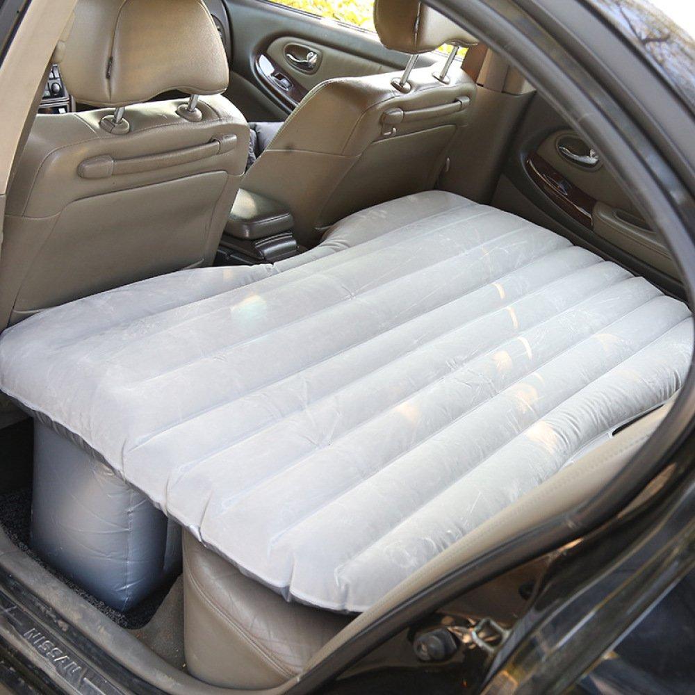 ERHANG Luftmatratzen Auto-Rücksitz-kampierendes Aufblasbares Bett-beflockendes Reise-Bett Im Freien