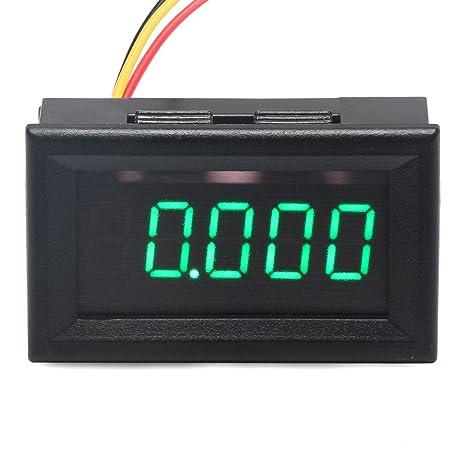 Hook up voltmeter gauge