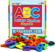 Magnetic Letters and Numbers for Educating Kids in Fun -Educational Alphabet Refrigerator Magnets and Uppercase and Lowercase Letters -82 Pieces