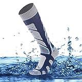 SuMade Knee High Waterproof Hiking Socks, Unisex