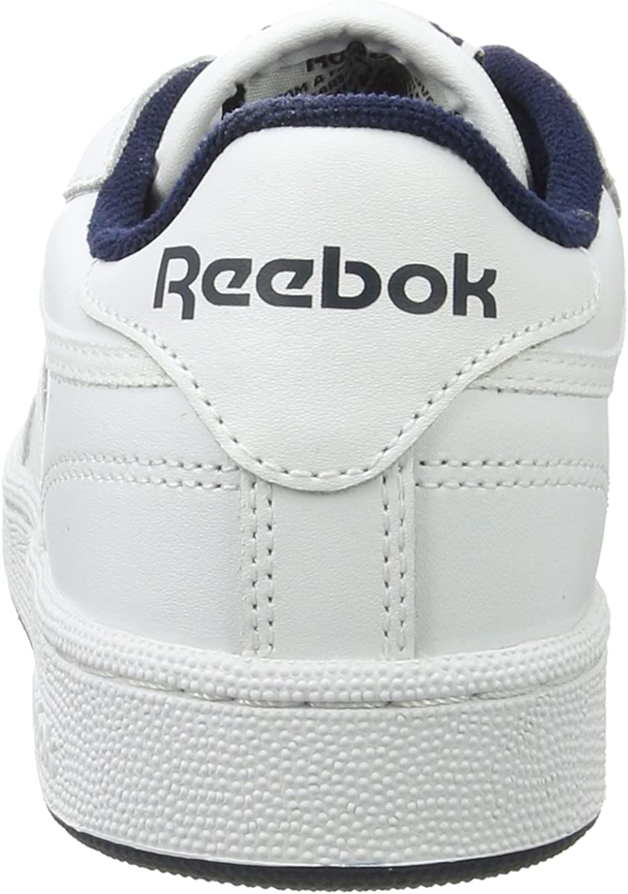 Reebok Club C85, Baskets Basses Homme Blanc Intense White Navy