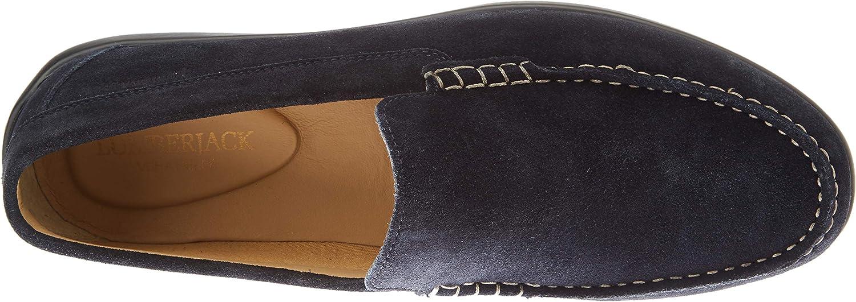 lumberjack Leman, Mocassins (Loafer) Homme Bleu Universe Blue Cc026