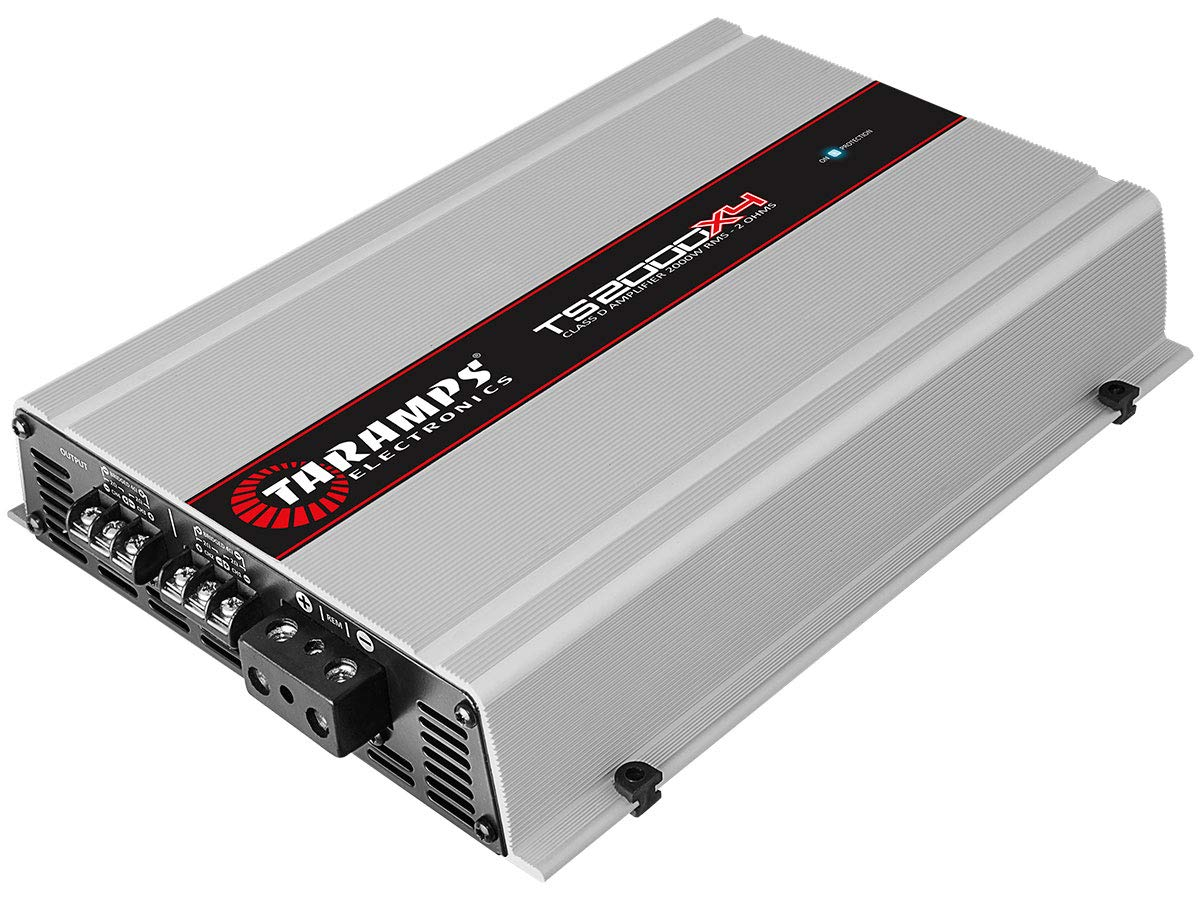 Amazon.com: TARAMPS TS2000X4 Taramp 4 Ch 2000 Watts 2 Ohm Car Amp: Cell Phones & Accessories