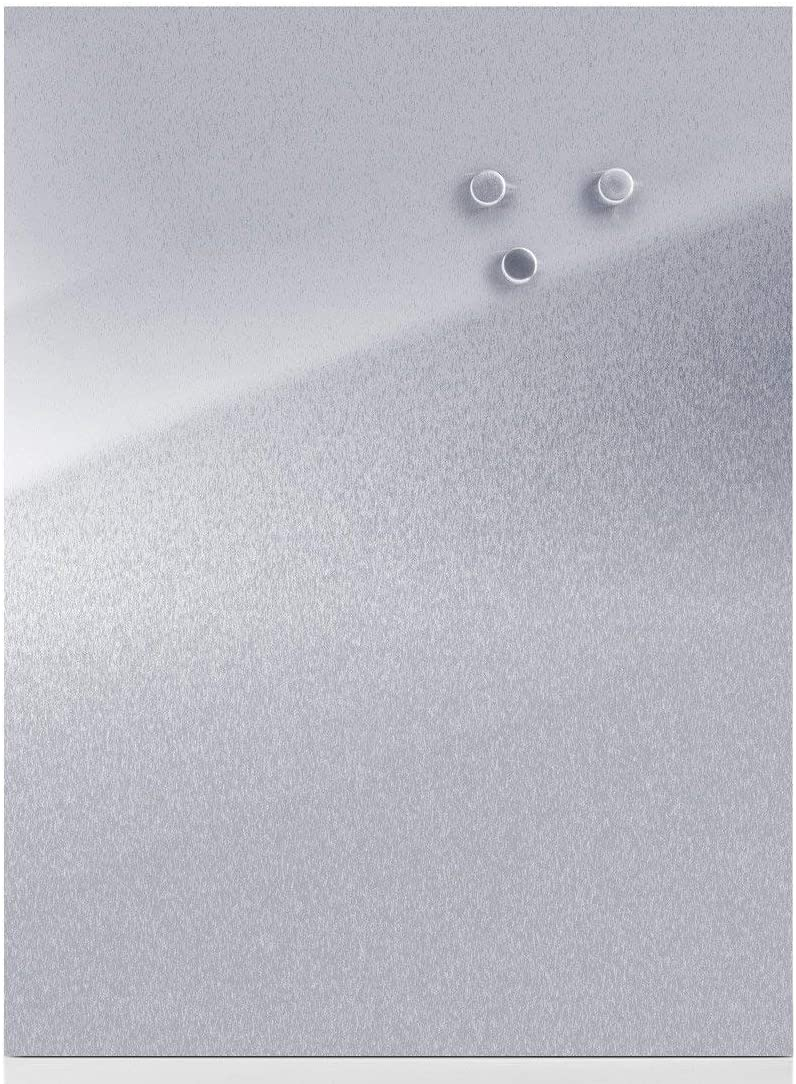 40 x 60 cm Pizarra magn/ética de acero inoxidable Present ES 18//0 Zeller