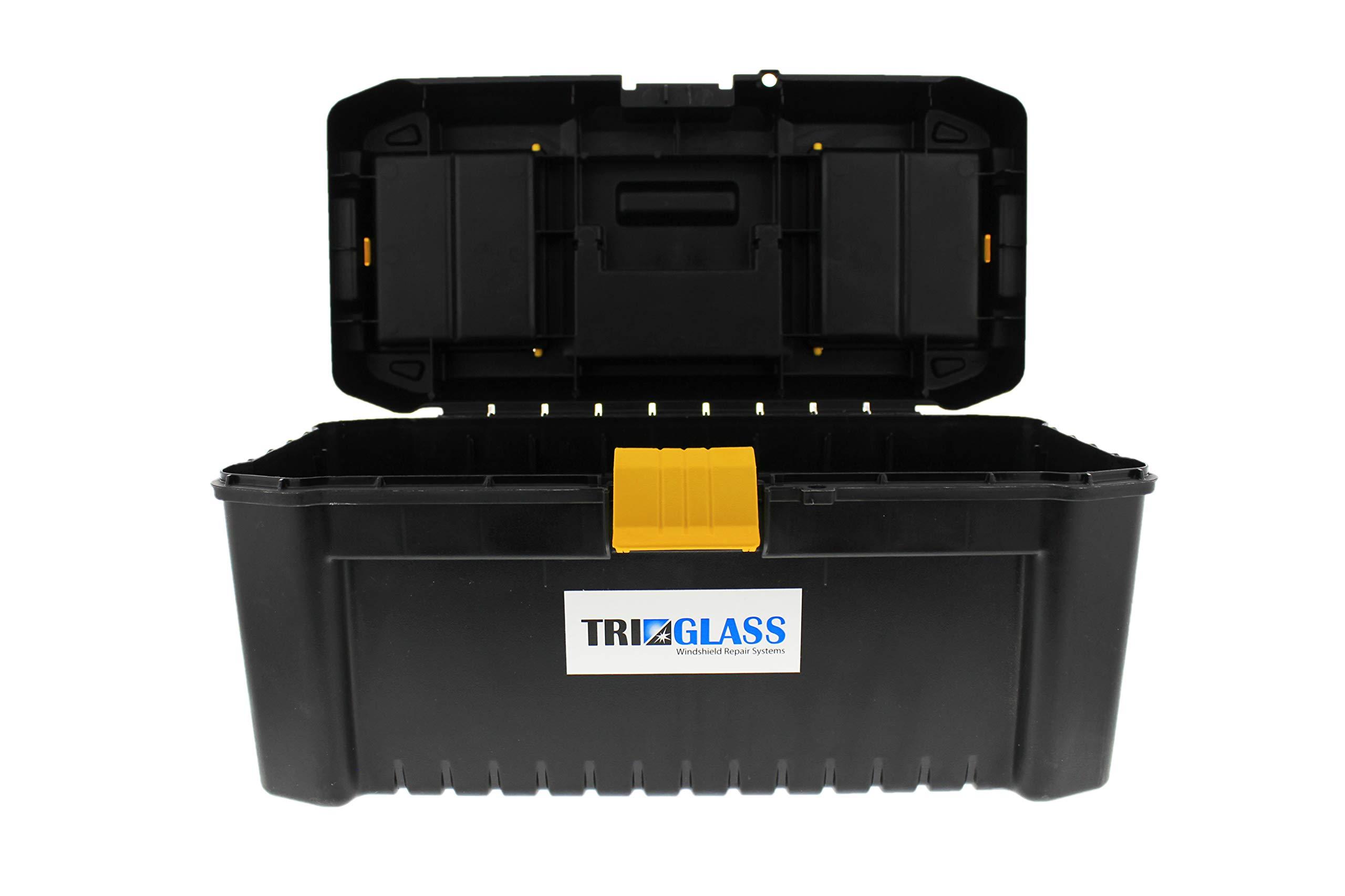 Tri Glass Quality Windshield Repair Kits (Tri Glass TRI 15 Essential Windshield Repair Kit) by Tri Glass (Image #2)
