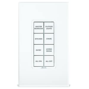 Insteon 2401BT50 NST2401BT50 50-Button Replacement Kit Keypads, White