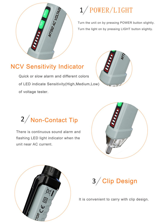 Tester Non Contact Liumy Led Flashlight Dual Range Voltage Gardner Bender Circuit Alert Noncontact Detector Gvd3504 12 1000v Amazoncom