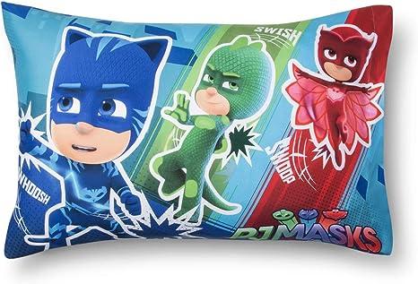Travel Pillow Case  Child Pillow Case Disney Junior PJ MASK  Gekko  Catboy  Owlette