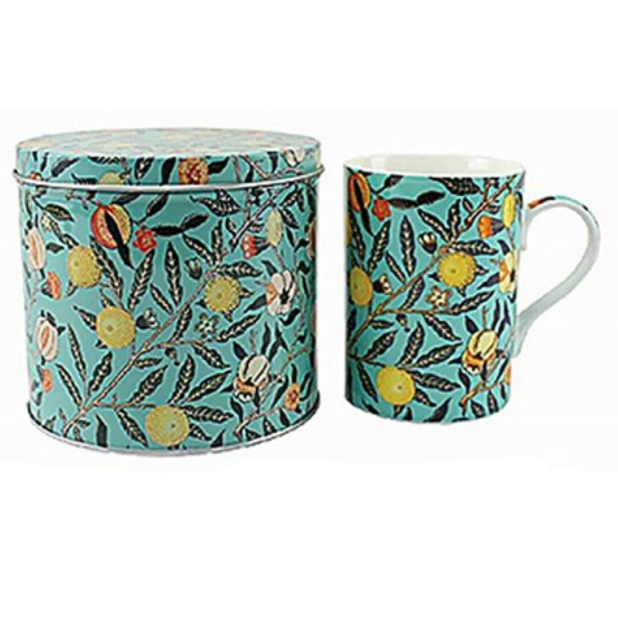 Oriental Paisley Set Of 2 Fine China Mugs By Leonardo