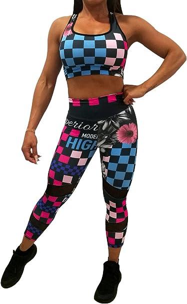 A. M. Sport Mallas, Leggins, Tops, Mujer Deportistas. Ropa Fitness ...
