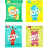 SmartSweets Peach Ring Gummy, Sour Gummy Bears, Sweet Fish, Sour Buddies, Assortment Pack, Low Carb, Low Sugar, 7.2 oz. Total Keto-Friendly - Including New Flavor Peach Ring!