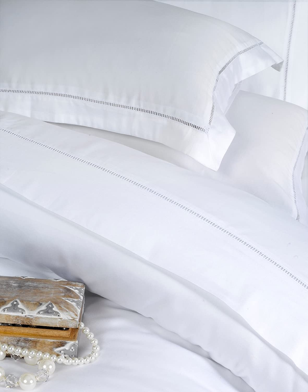 About white 1000tc egyptian cotton complete bedding collection sheet - Dorchester 1000 Thread Count Oxford Pillow Case Hotel Quality