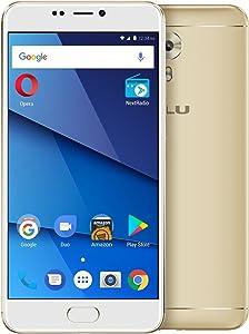 "BLU VIVO 8-5.5"" Full HD, 4G LTE Smartphone -64GB + 4GB RAM -Gold"