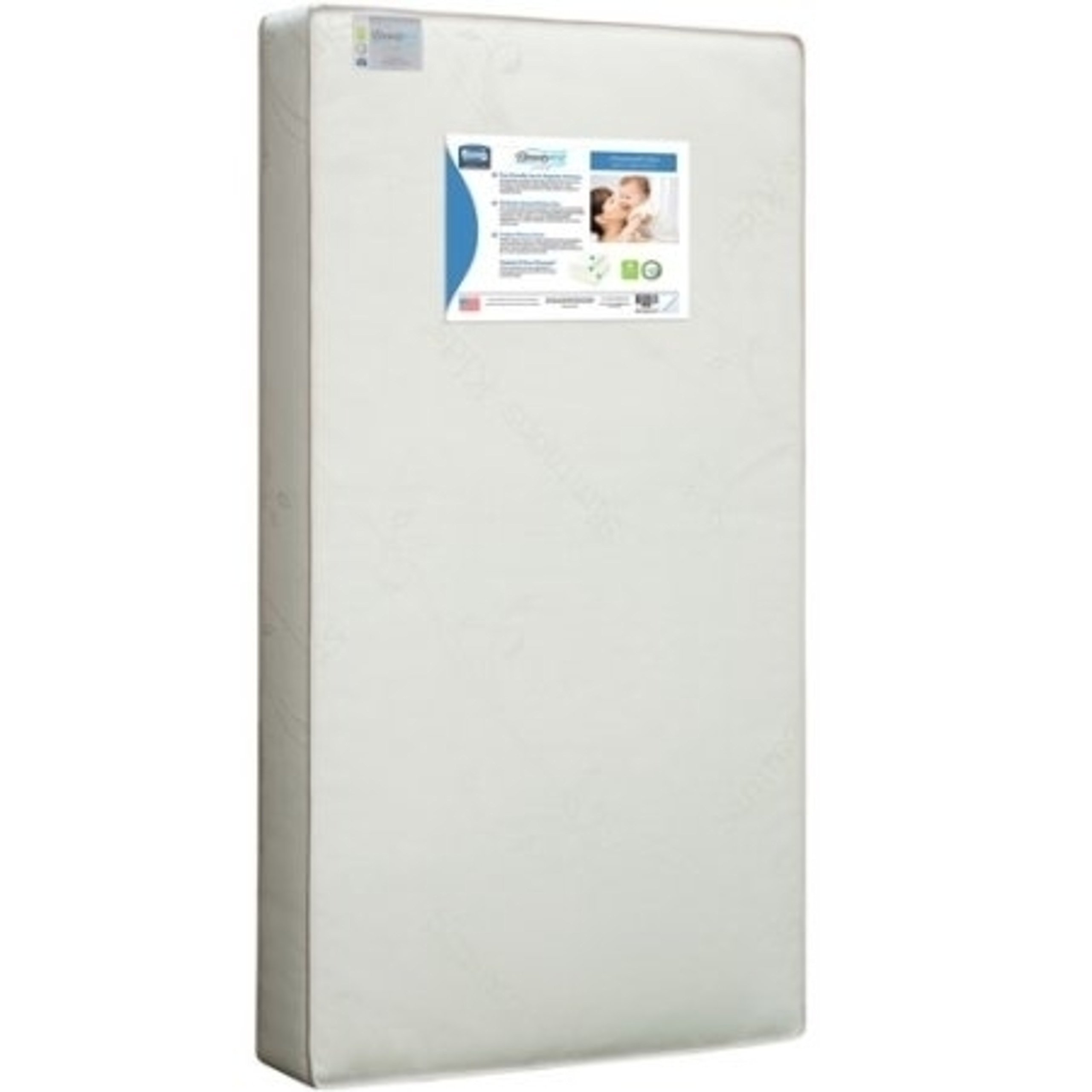 Cotton Woven Sustainable Soy Foam Superior Firmness Baby and Toddler Mattress