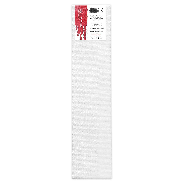 Artina 5er Set - 60x80 cm Leinwand aus aus aus 100% Baumwolle auf stabilem Keilrahmen in 3D Premium Qualität - 380 g m² B0130R1LC0 | Verkauf  5dded5