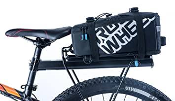 af6d71beafa ROSWHEEL Multifunción bolsas de sillín para bicicleta - Alforjas para  bicicleta asiento trasero maletero bolsa funda de ...